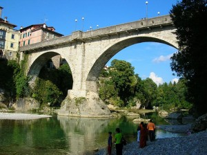 The Devil's Bridge in Cividale del Friuli